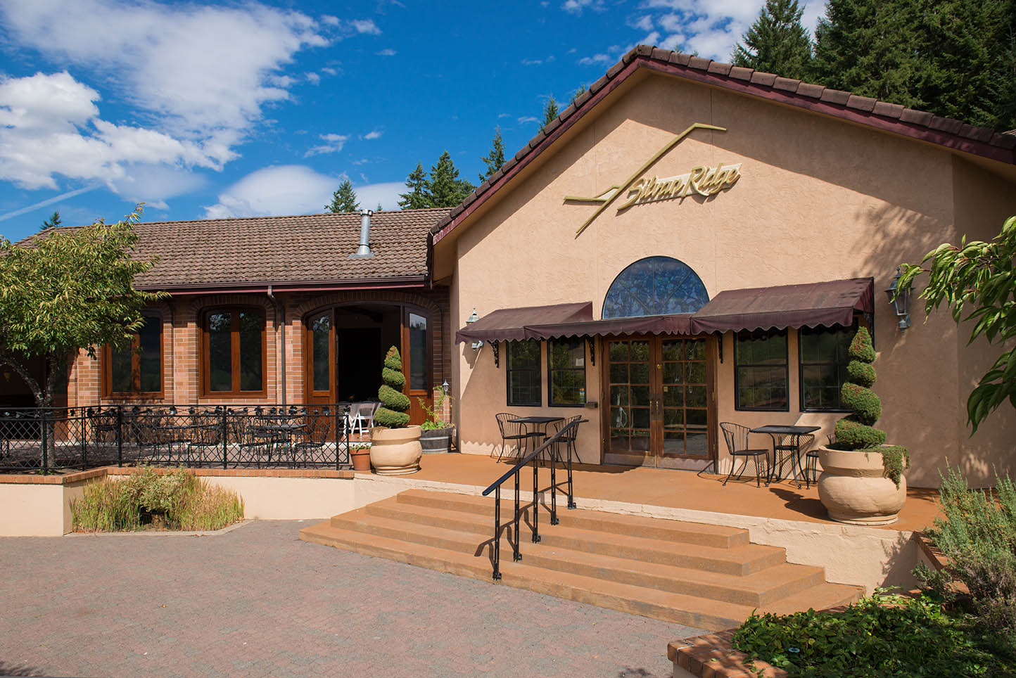 New Winery Front