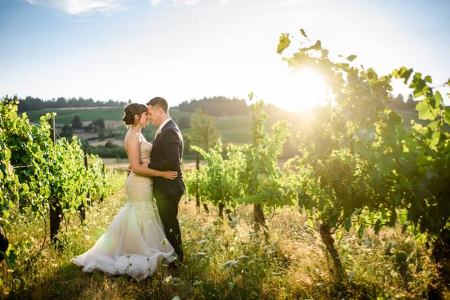 Weddings at Silvan Ridge in Eugene, Oregon